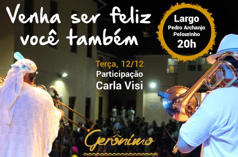 Gerônimo Pelourinho - 12 de dezembro post