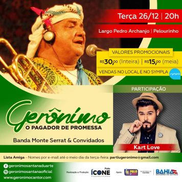 Show em Salvador 26 de dezembro 2017
