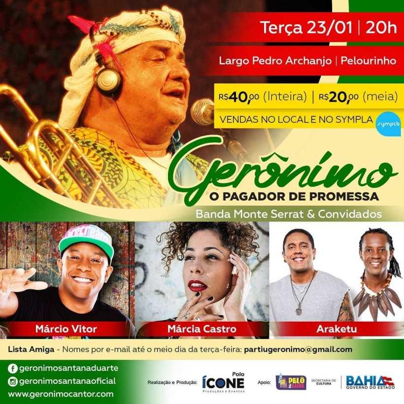 Geronimo Pelourinho 23 de janeiro de 2017 Salvador