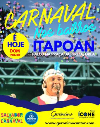 CARNAVAL ITAPOAN DOMINGO